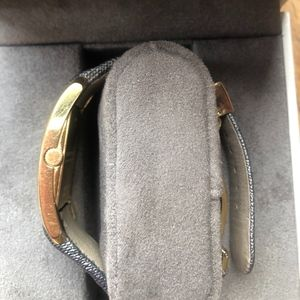 Burberry Accessories - Burberry BU1117 Heritage Gold Swiss Made Leather